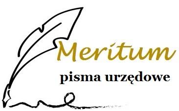 Meritum - Pisma Urzędowe